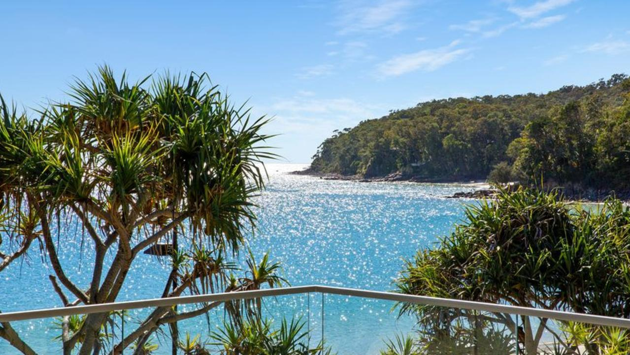 Beachfront property in Noosa Heads is in strong demand.