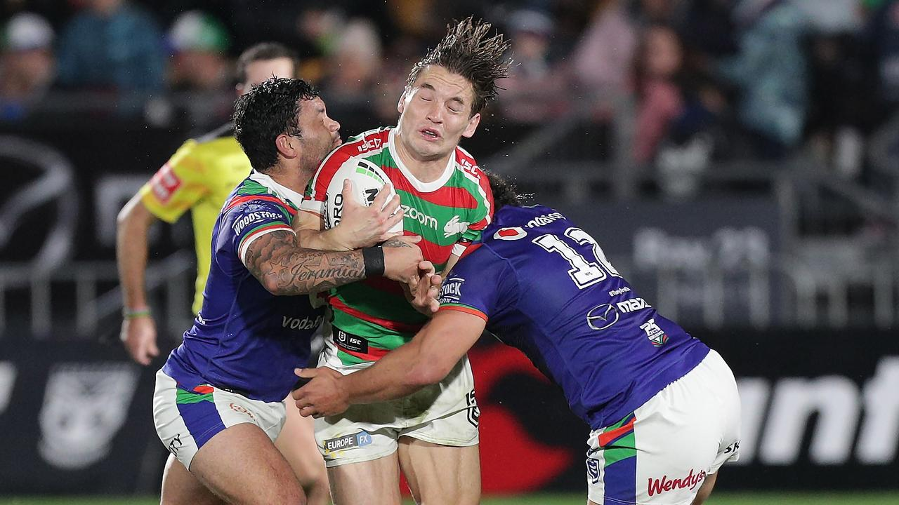 Cameron Murray led the way for the Rabbitohs. Picture: AAP