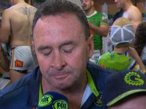 Ricky's emotional tribute to Gallen
