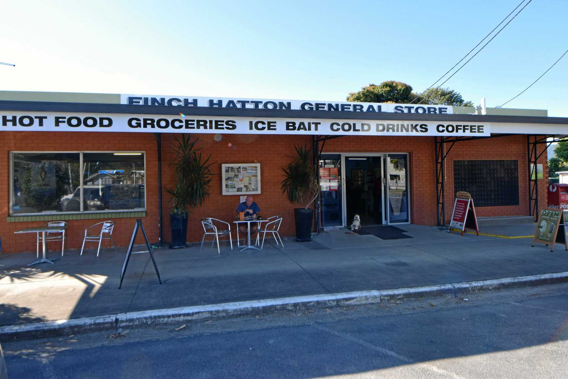 Finch Hatton General Store in the Pioneer Valley.