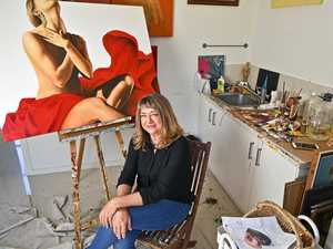 Artist's painting in national spotlight on The Block
