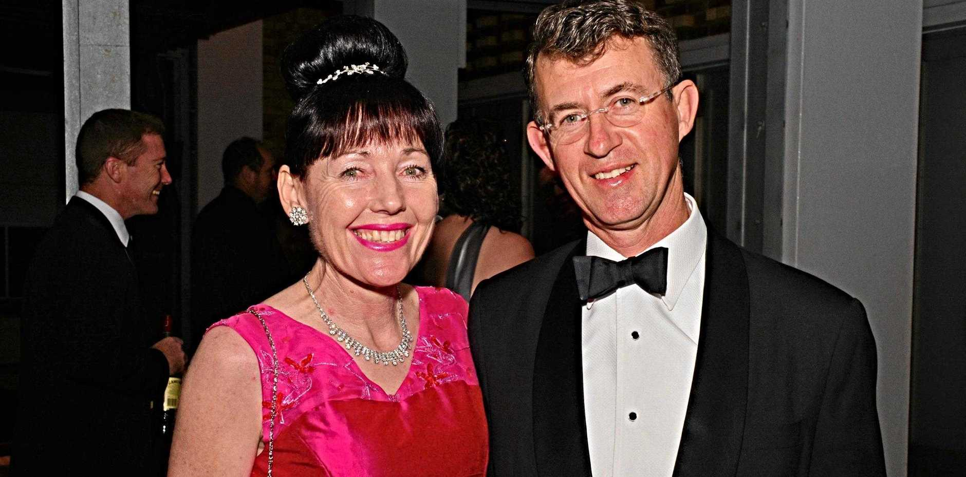 REMEMBERING: South Burnett Regional Deputy Mayor Kathy Duff and former Southern Downs councillor Jamie Mackenzie.