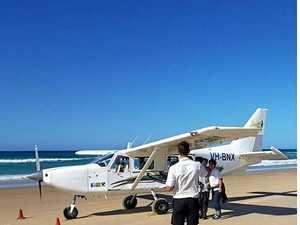 Fraser Island pilot tells of moment landing gear failed