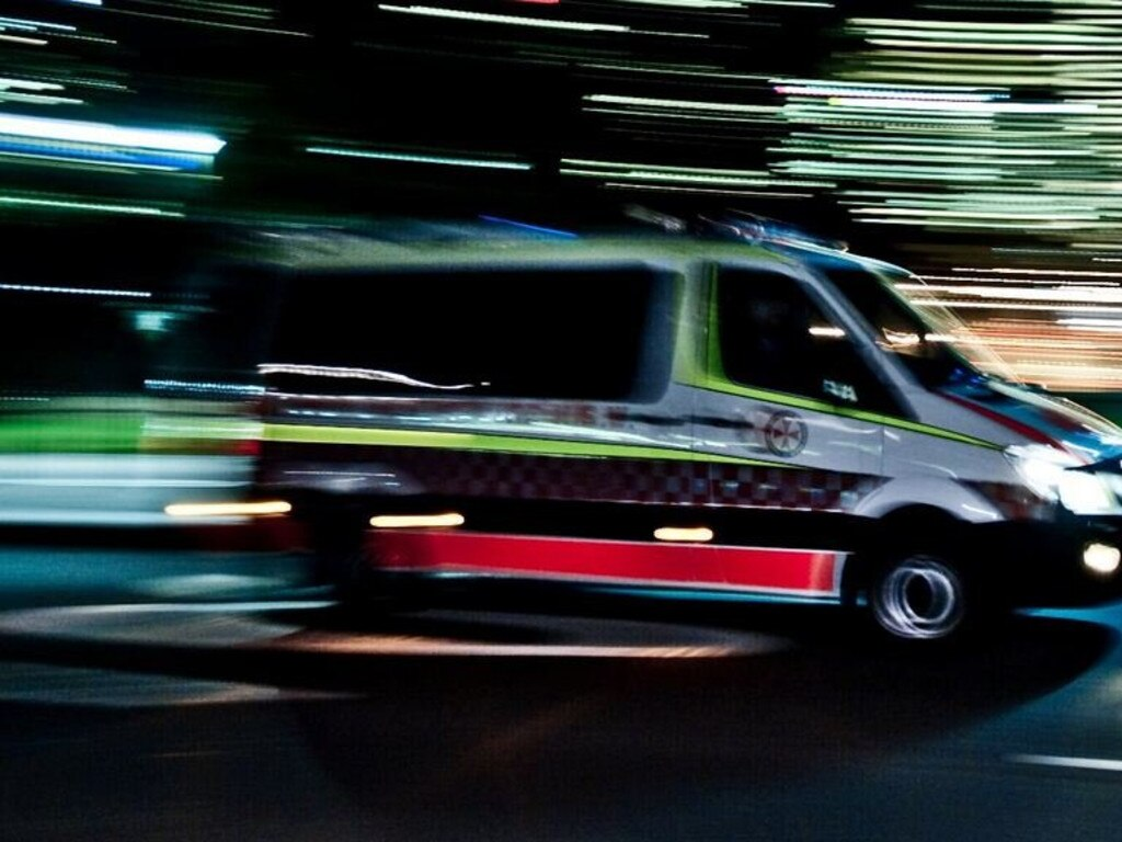 Critical care paramedics rushed a man to hospital last night after a serious crash in Buderim.