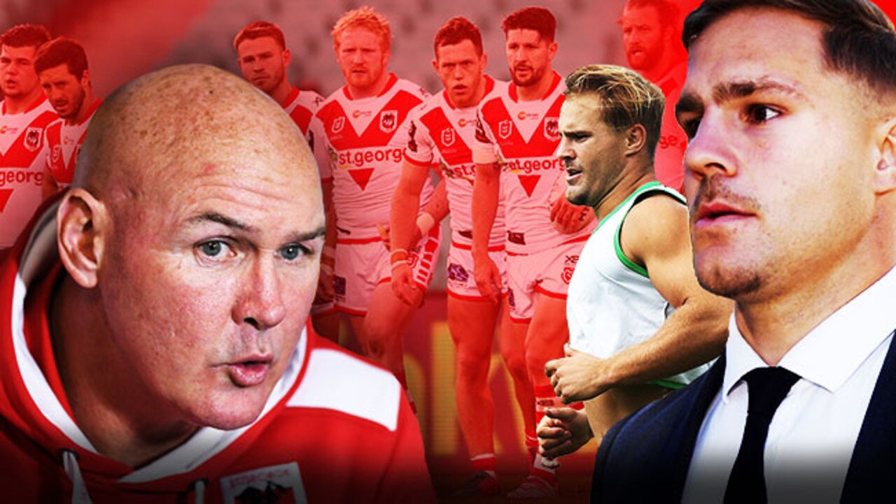 The Dragons failed to cope with Jack de Belin's absence.