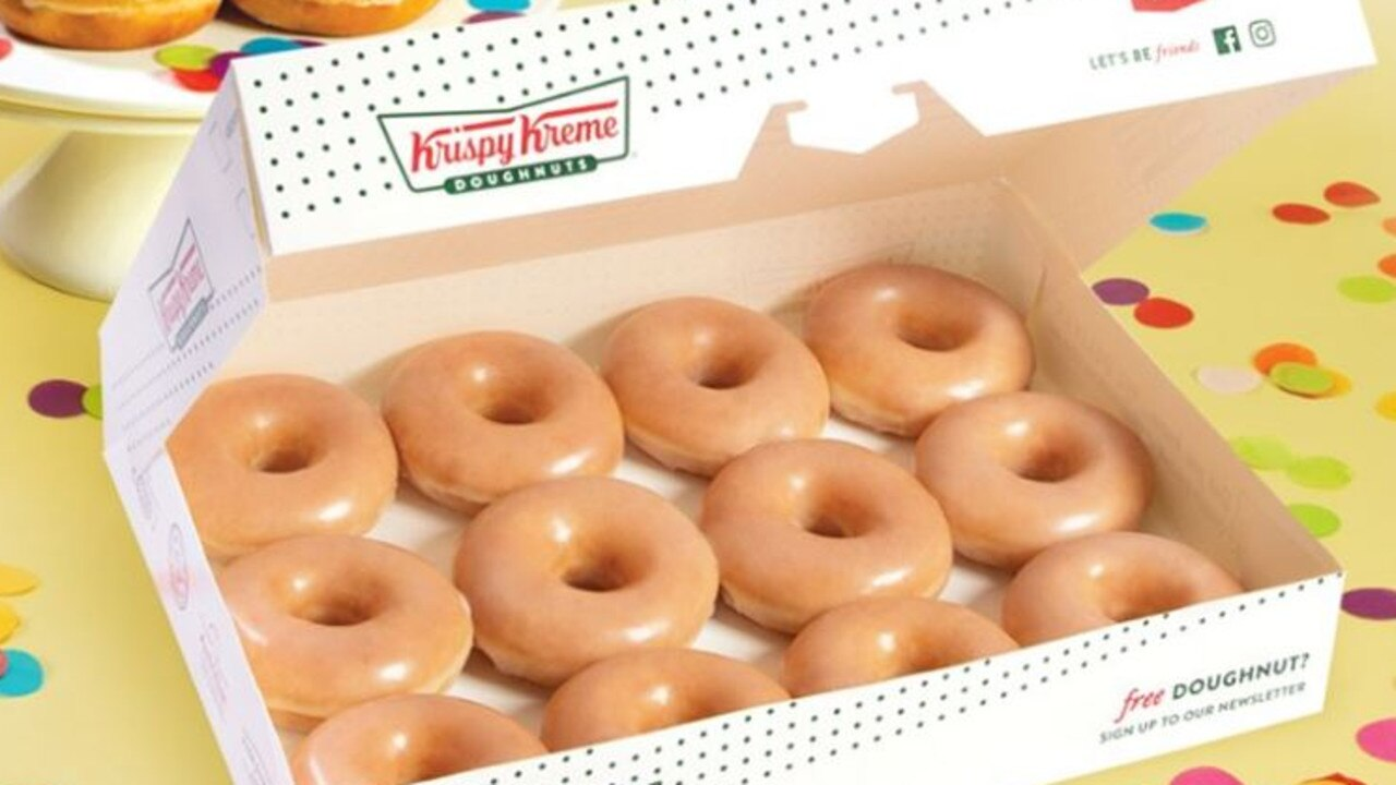 Krispy Kreme Australia is giving away a dozen of its Original Glazed doughnuts for just 16 cents.