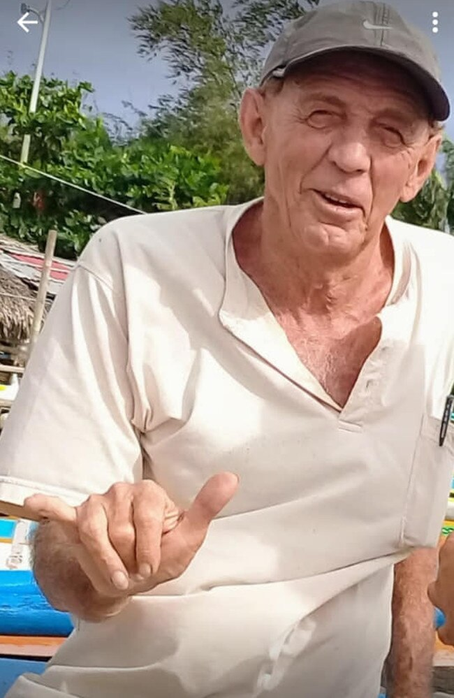 Queensland's Reginald Rene Hodgens was gunned down in the Philippines in 2018.