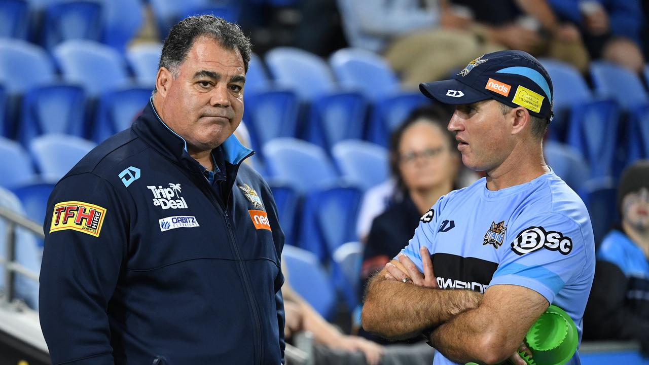 Titans Football Director Mal Meninga — season 2019 a tough one. (AAP Image/Dave Hunt)