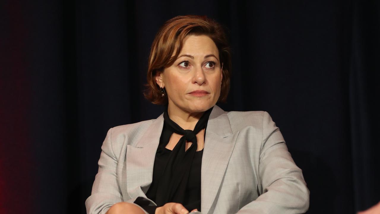 Queensland Deputy Premier and Treasurer Jackie Trad. Picture: Annette Dew