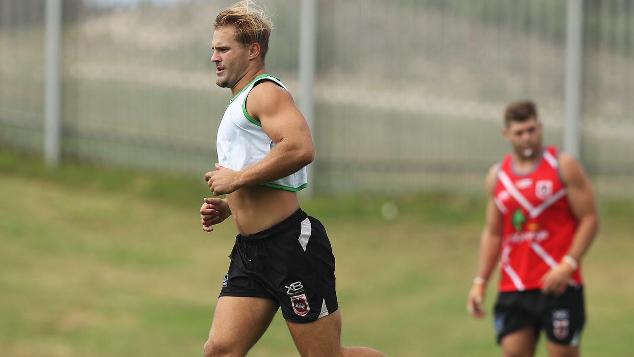Should the Dragons have kept de Belin away from training? Photo: Brett Costello