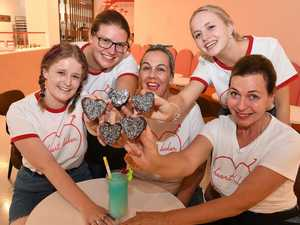 Hearts racing for new brownie store on Coast
