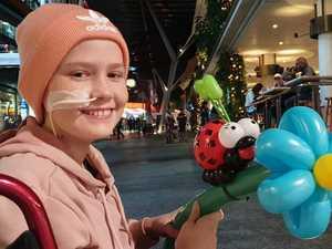 Blood transfusions keep 'amazing' Josie alive
