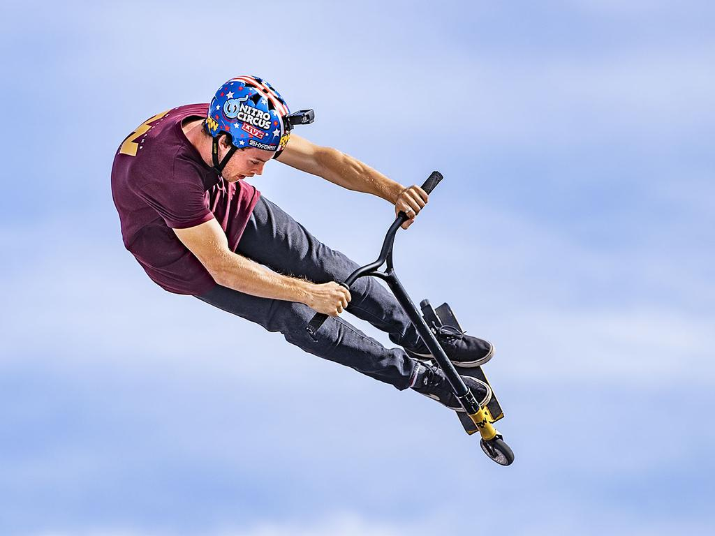 Scooter sensation Ryan Williams and the Nitro Circus team will be back on the Sunshine Coast in March next year.