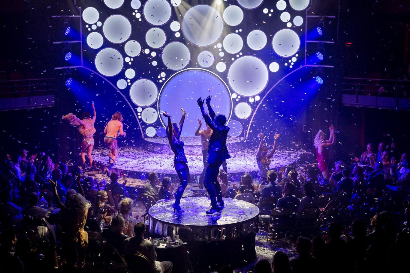 The Blanc de Blanc Encore opens tonight at the Brisbane Festival.