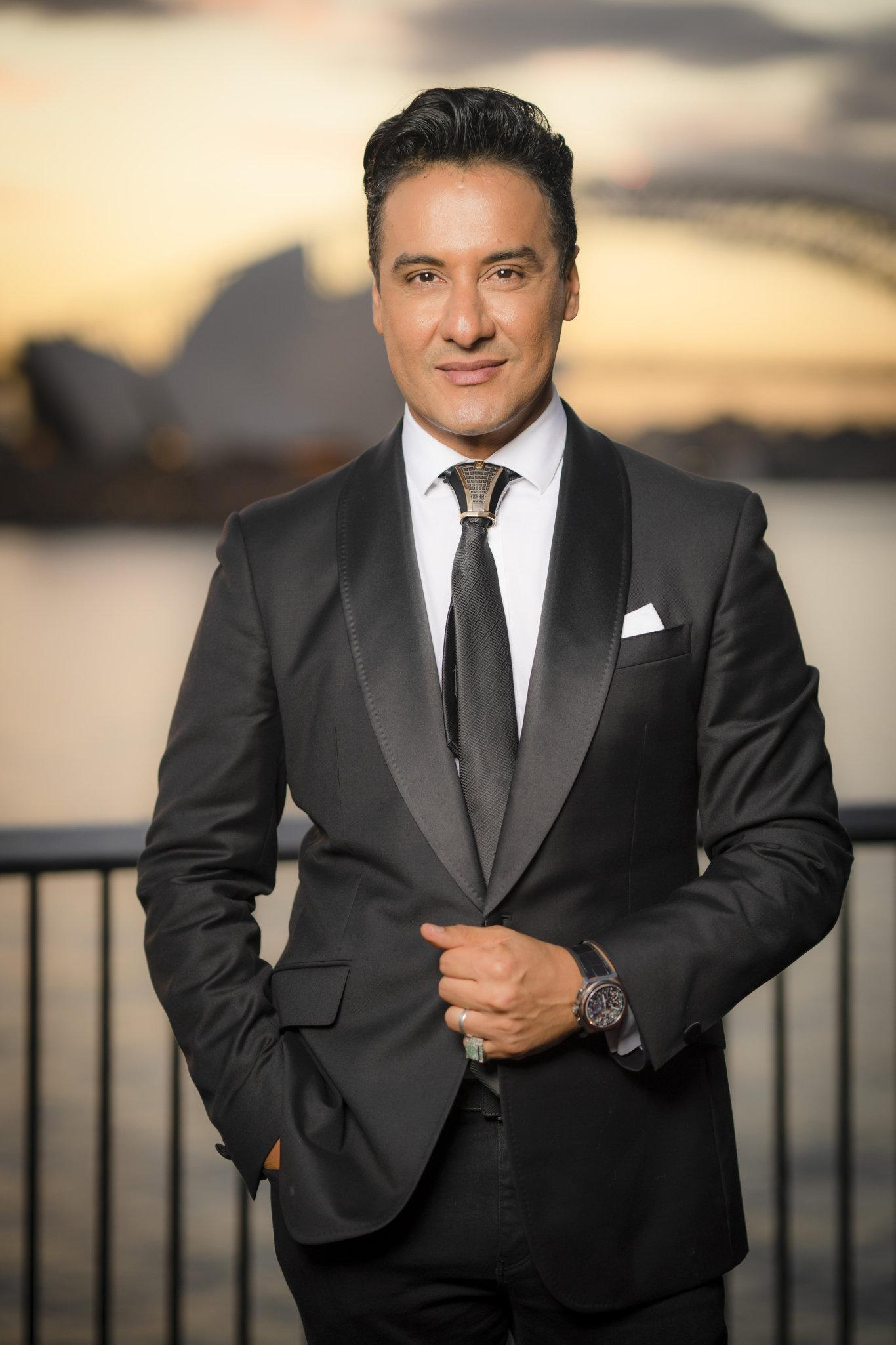 Karim Gharbi, director of The VIP Sydney, stars in Ten's new Pilot Week show Sydney's Crazy Rich Asians.