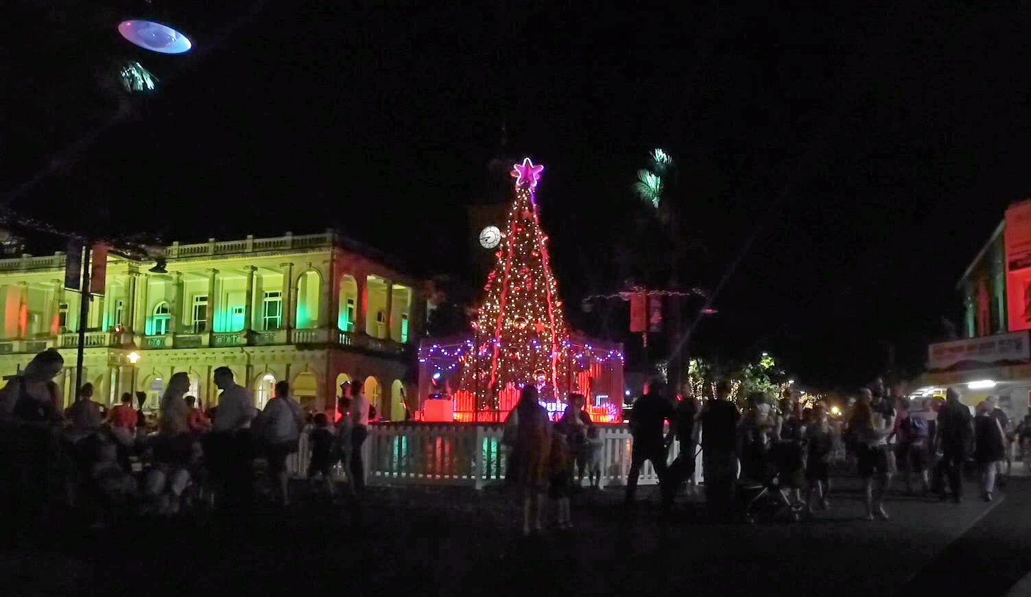 LIGHTS ON: Rocky Christmas Tree 2017.