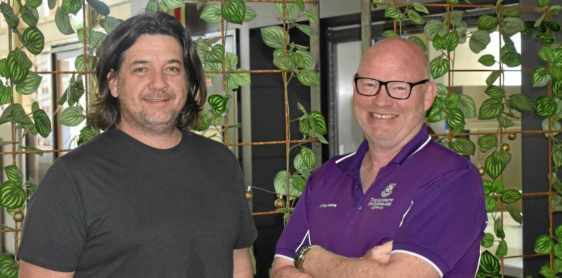 Michael Williams & Simon Scott