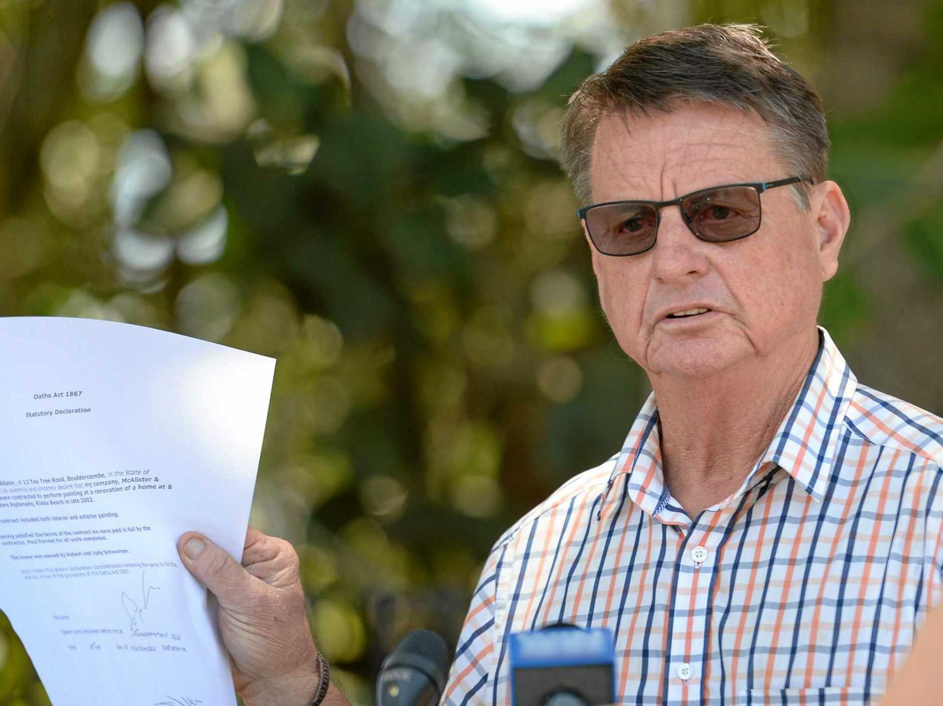 CLEARED: Former Rockhampton MP Robert Schwarten.