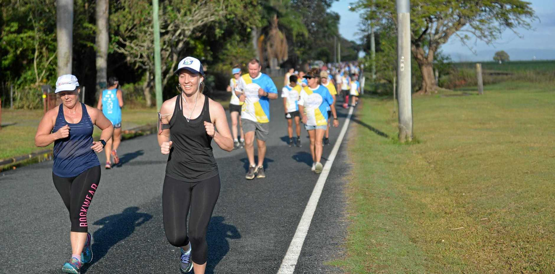 Run for MI Life is taking on the World Suicide Prevention Day walk at Bluewater Quay on September 15.