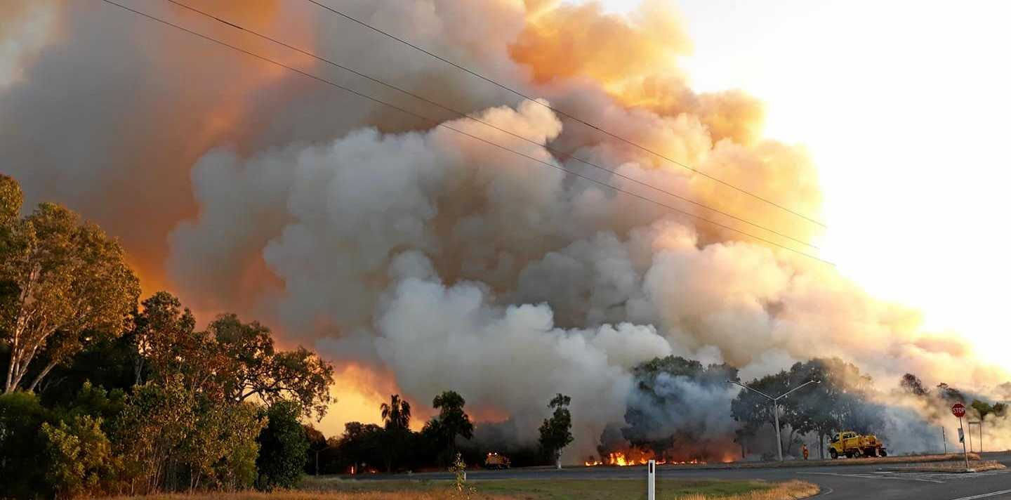 BUSHFIRES: Locals have submitted amazing images of the bushfires raging around the Capricorn Coast over the past few days.