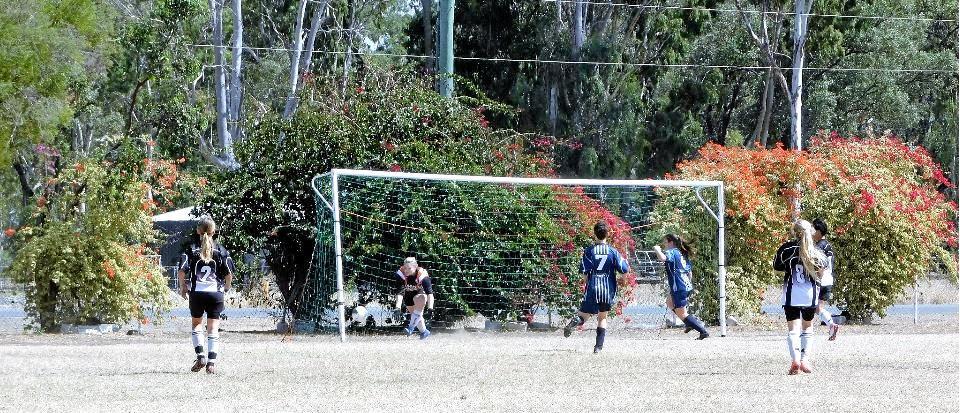 Monto Soccer Club's U16 Mavericks won a famous 2-3 victory, sending them to their first Biloela and District junior football grand final.
