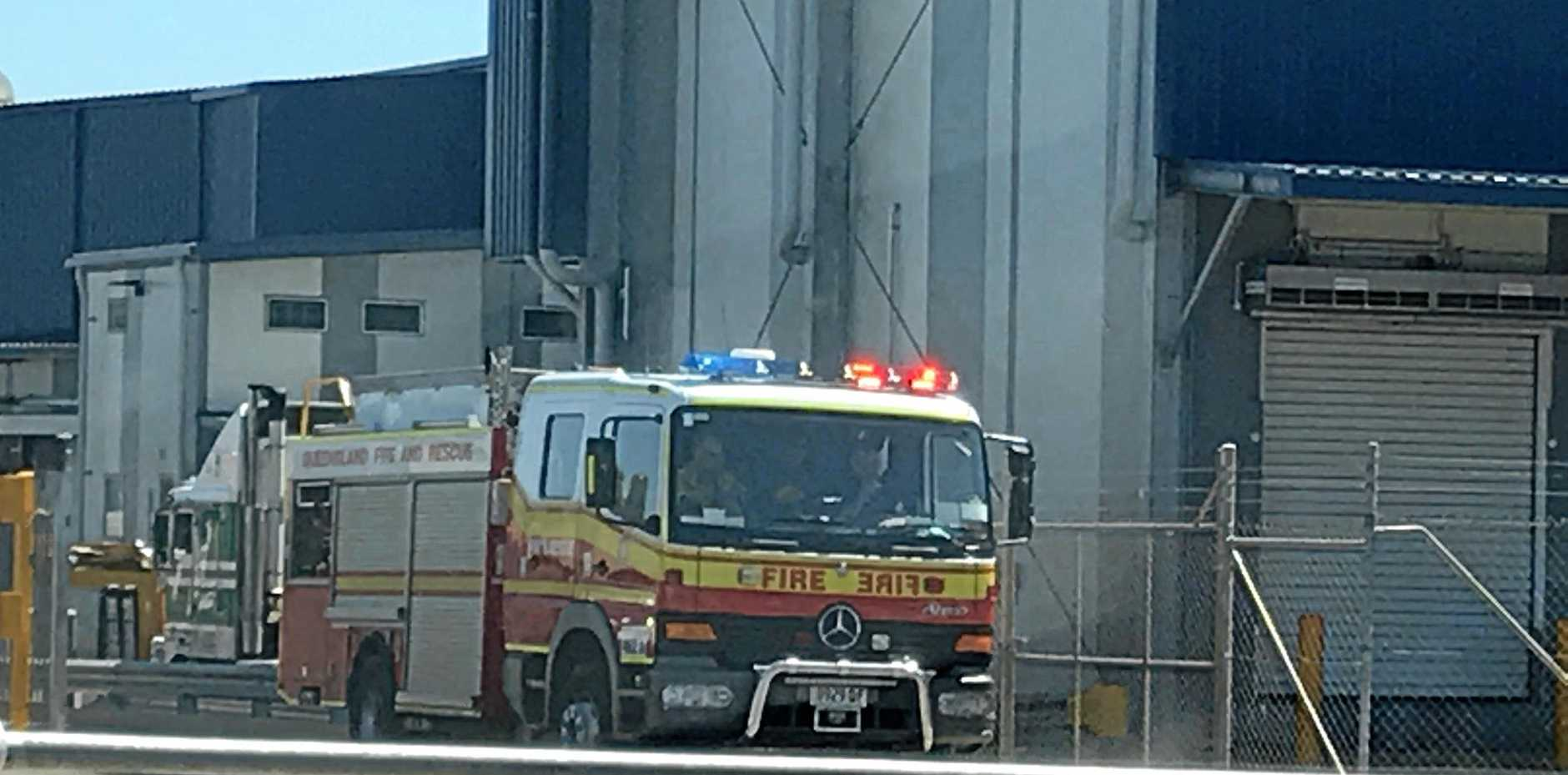Two fire crews attended Swickers Bacon Factory following activation of smoke alarms.