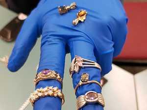 Police discover treasure trove of jewellery in raid