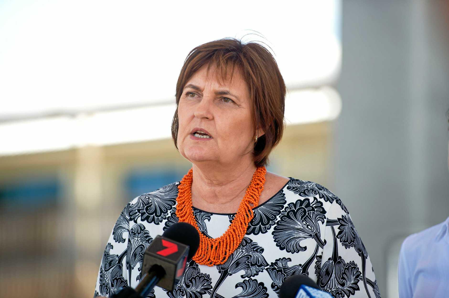 Member for Mackay Julieanne Gilbert.