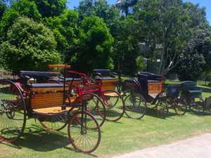 Edwardian car display comes to Highfields Pioneering Village