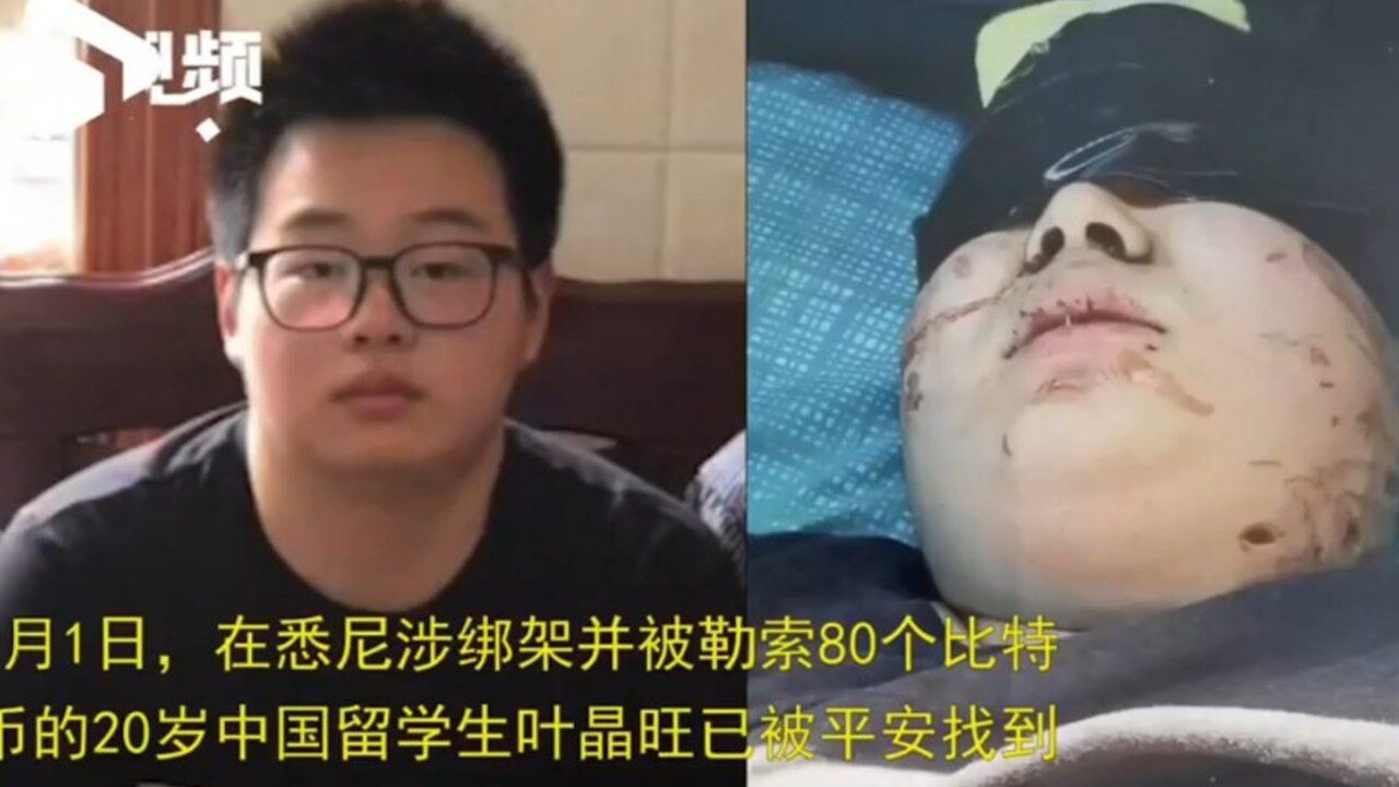 Chinese student found after 'suspected abduction'. Picture: Shanghaiist