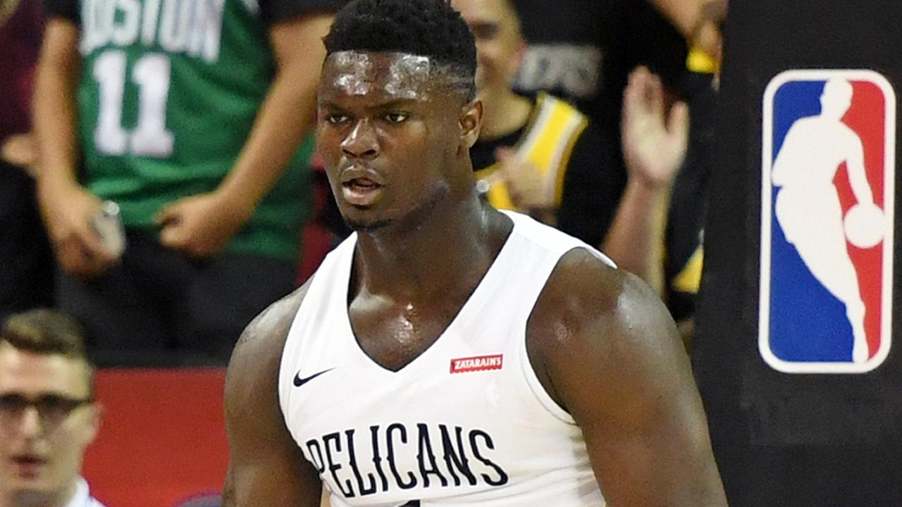 The hype around Zion Williamson in the trading card community is real. Pic: Getty Images/AFP
