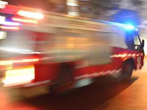 Fire crews respond to car blaze near Baillie Henderson