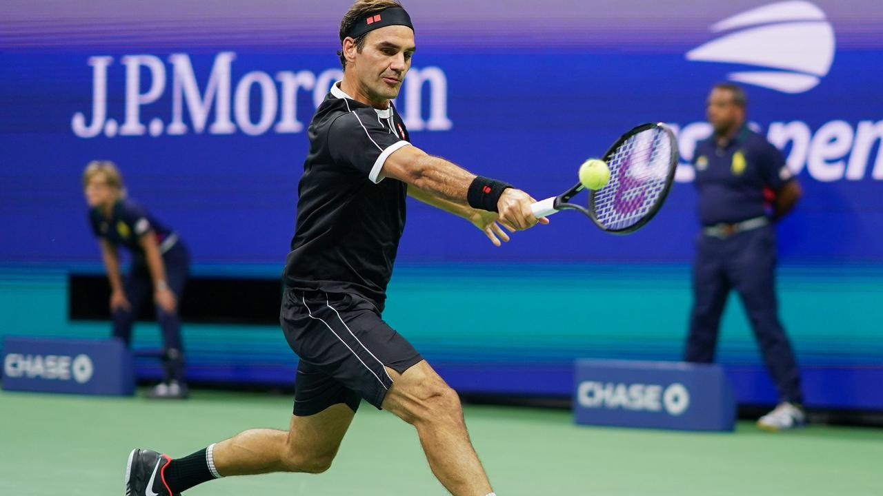 Roger Federer has been knocked out of the US Open.
