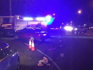 UPDATE: Critically injured crash victim flown to Brisbane