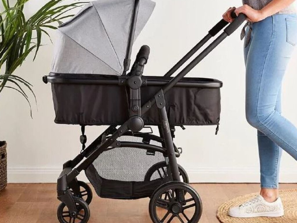 In August mums went nuts for this Big W $249 pram. Picture: Supplied