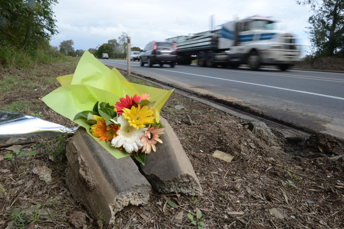 A man has died in hospital following a car crash on a highway.