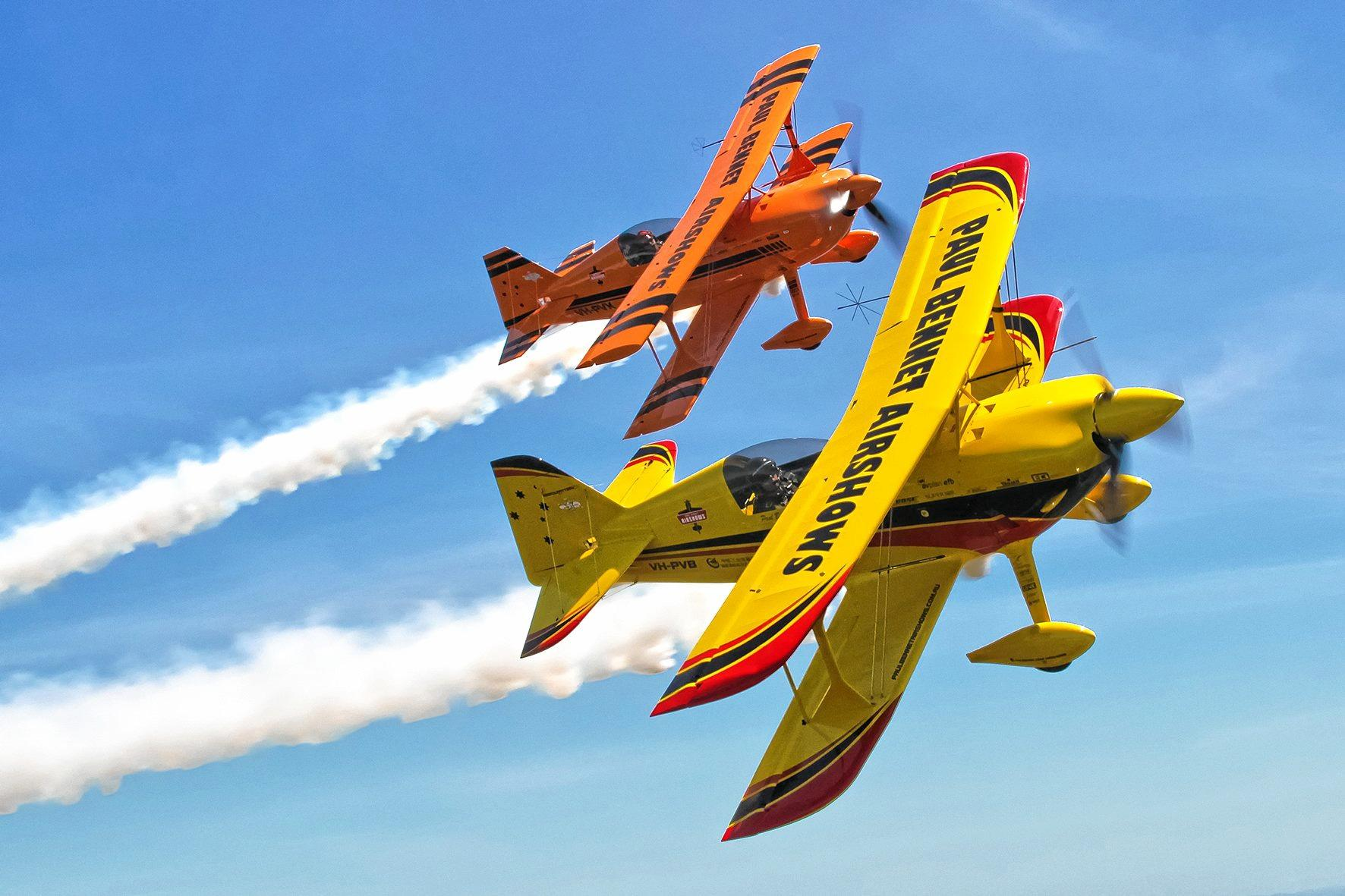 SKY'S THE LIMIT: Paul Bennet Airshows will thrill visitors to the Lismore Aviation Expo which will go ahead this Saturday.
