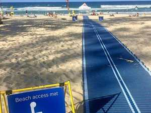 Tannum Sands beach open for people with disabilities