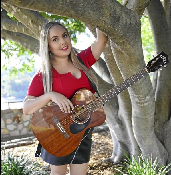 MUSICIAN: Don't miss Jessamy Fox perform at The Royal Hotel tomorrow night.