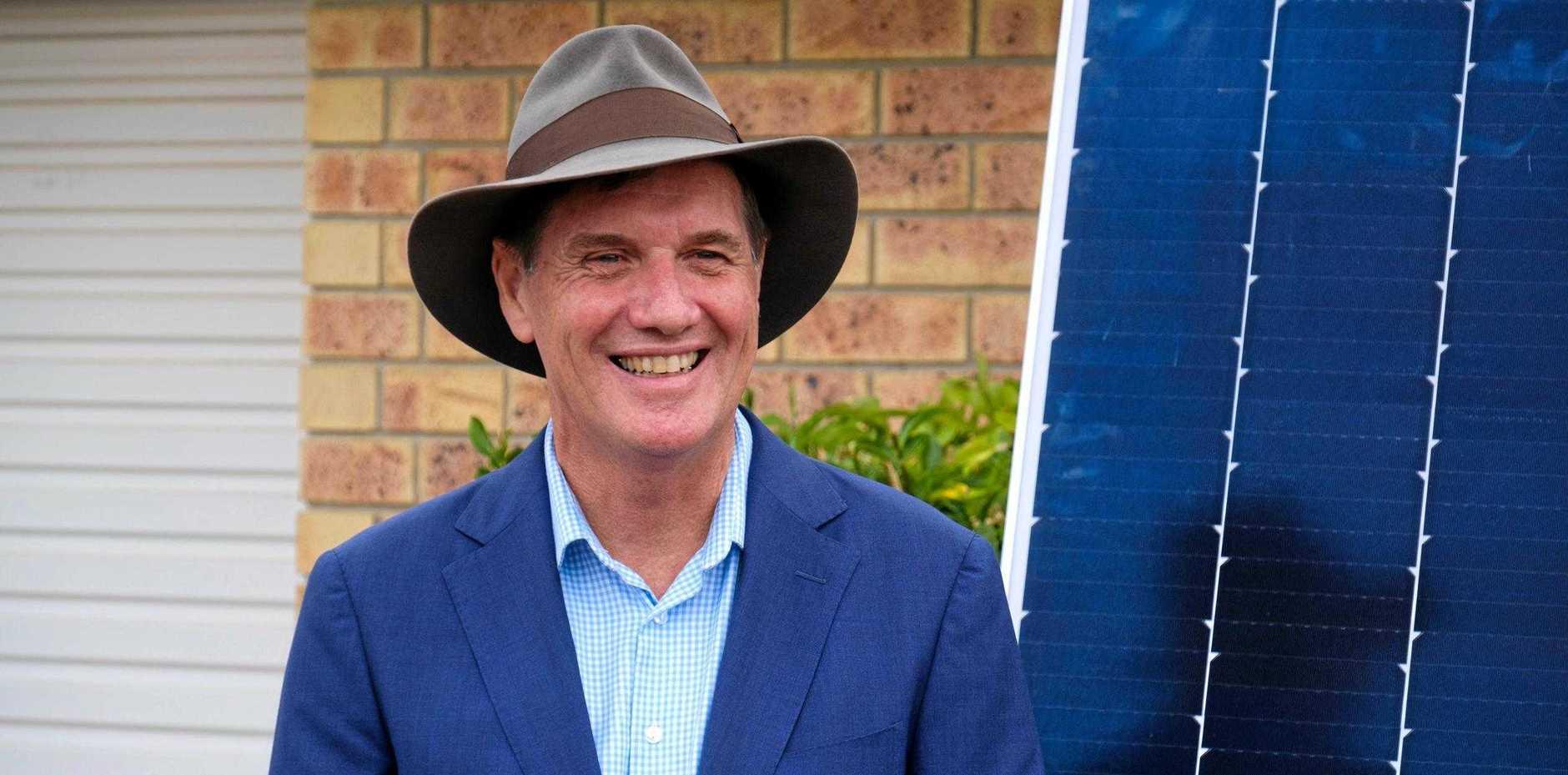 Mines minister Anthony Lynham