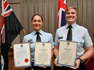 'Most eye-opening day': Police awarded for bushfire service