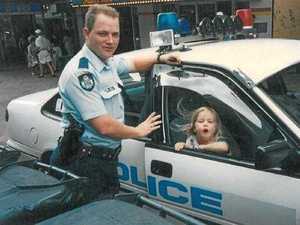 Newest officer influenced as child to join force