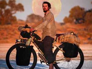 Reformed drug abuser rides across Australia in a world-first