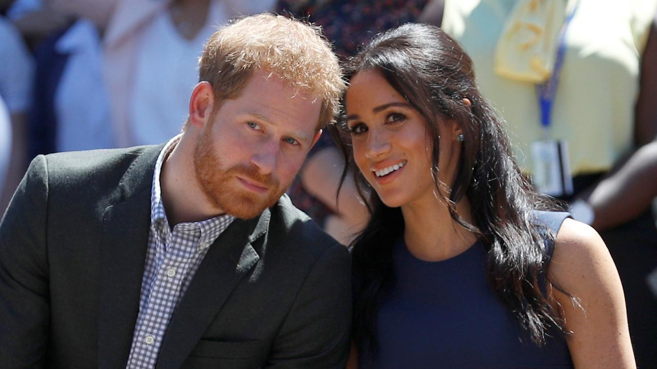 Meghan and Harry keep coming up against the same dilemma — the difference between what they practice and what they preach. Picture: Phil Noble — Pool/Getty Images