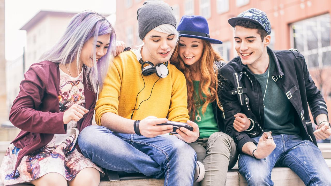 Phone addictions can take teenagers from social beings to virtual hermits. Picture: iStock