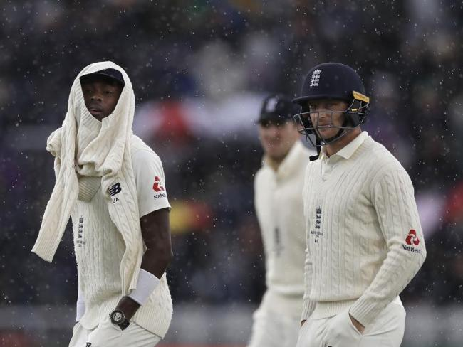 Jofra Archer and the England team's show was in keeping with the dank weather.