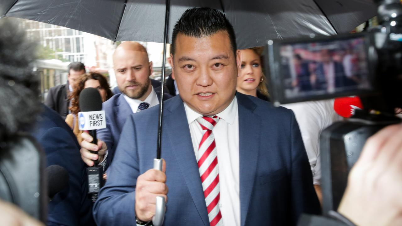 Kenrick Cheah's ICAC testimony regarding Ms Murnain was called into question. Picture: Liam Driver