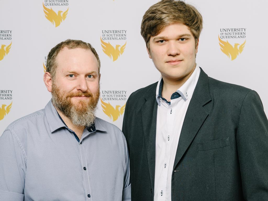Alex Jacobson-Jones and Luke Jones. Photo: USQ Photography.