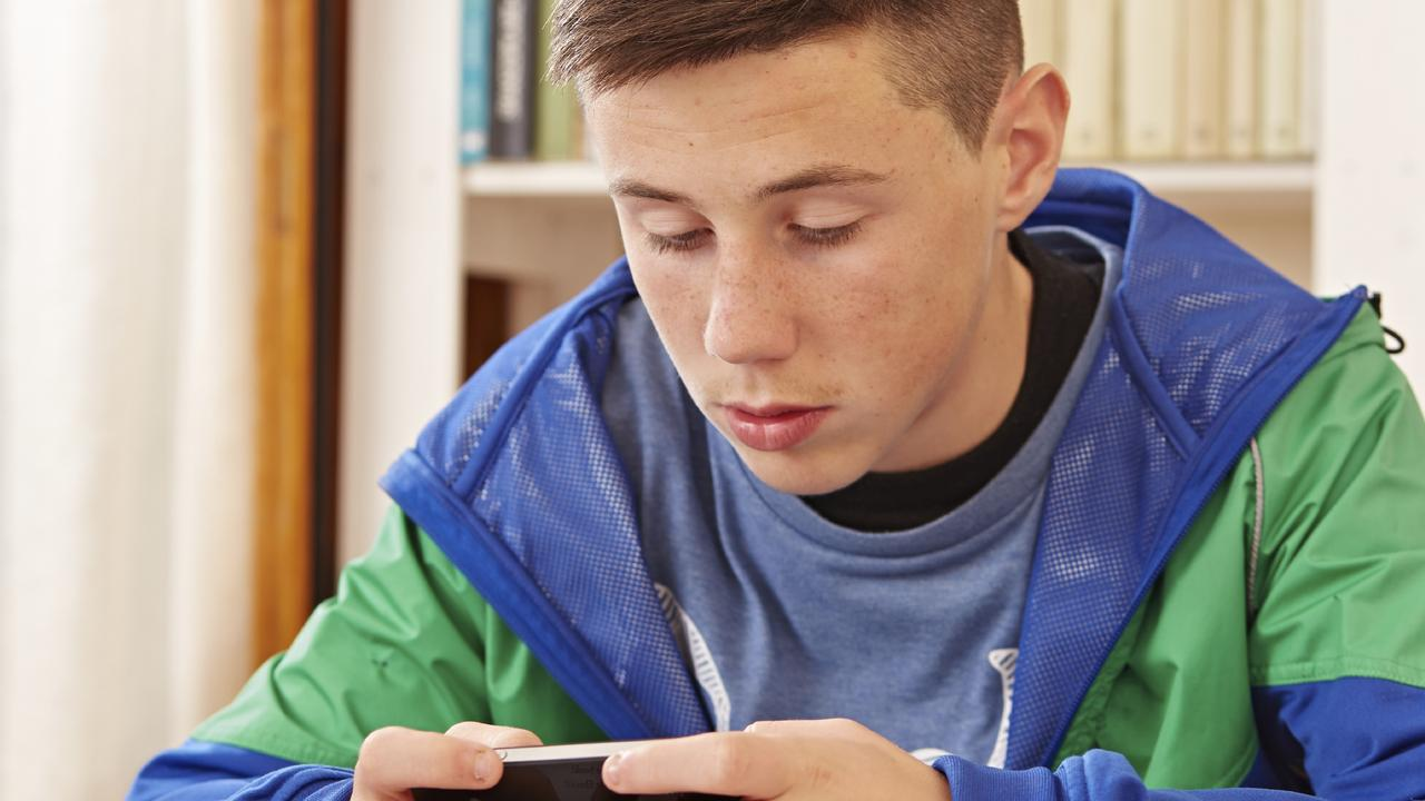 Some teenagers have reacted with violent outbursts after having devices confiscated. Picture: iStock
