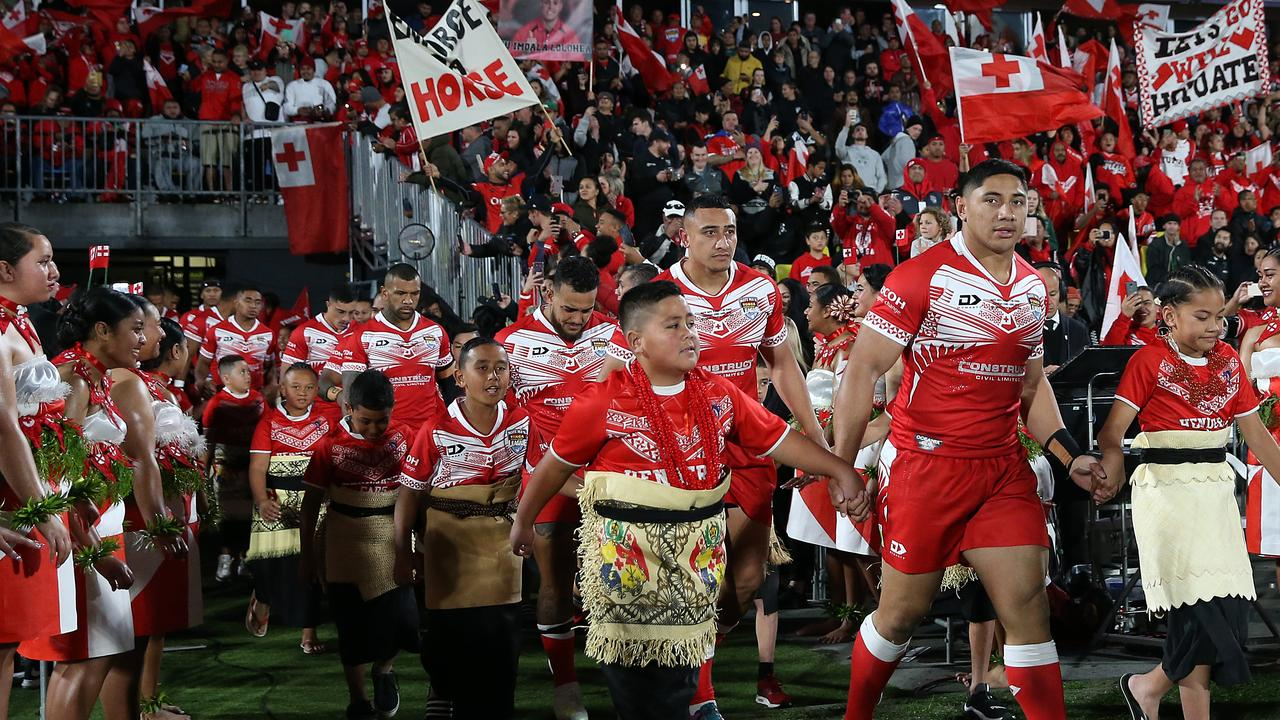 Tonga have helped revamp international footy. Photo by Fiona Goodall/Getty Images.